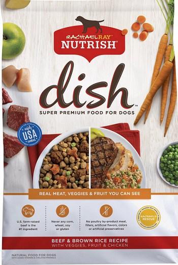 Rachael Ray Nutrish Dish Natural Beef & Brown Rice Recipe Dry Dog Food