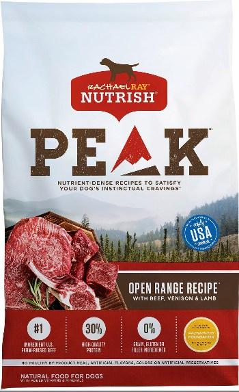 Rachael Ray Nutrish Peak Open Range Recipe Dry Dog Food