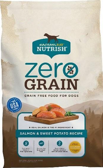 Rachael Ray Nutrish Zero Grain Natural Salmon & Sweet Potato Recipe