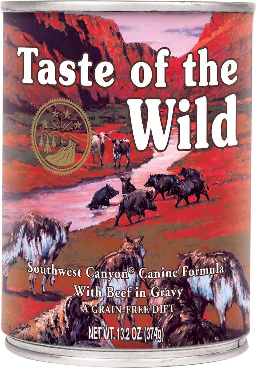 Taste of the Wild Southwest Canyon Canned Dog Food