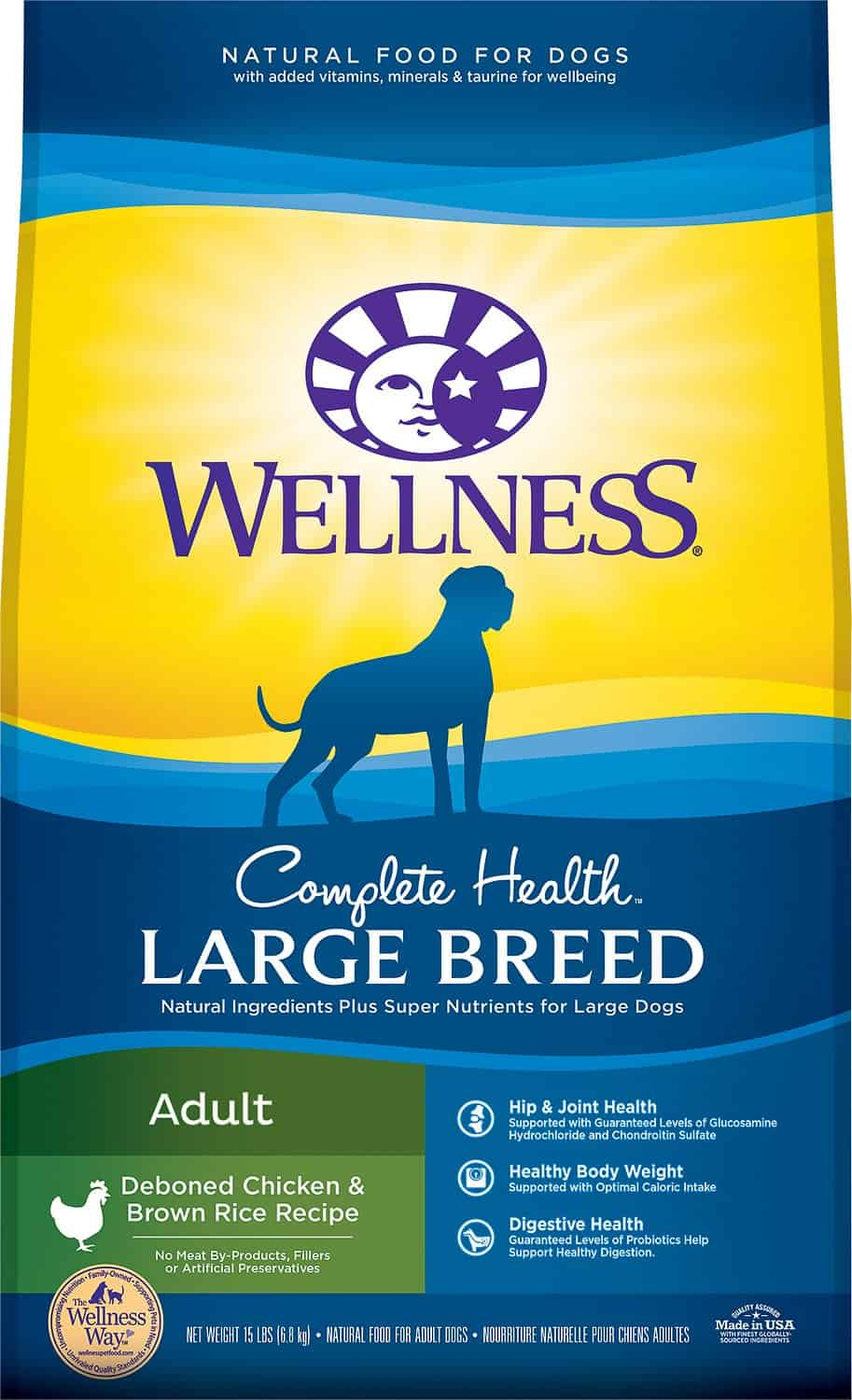 Wellness Large Breed Complete Health Dry Dog Food