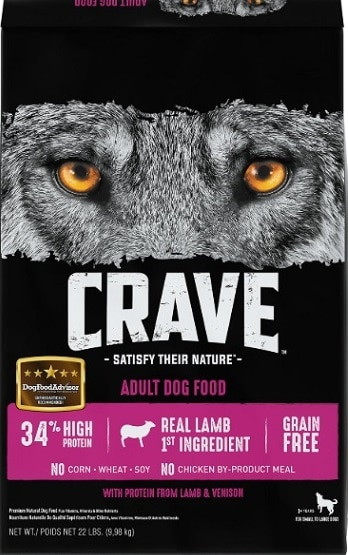Crave With Protein From Lamb & Venison Adult Grain-Free Dry Dog Food