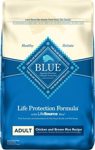 Blue Buffalo Life Protection Formula Chicken & Brown Rice Recipe Dry Dog Food