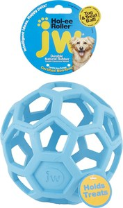 JW Pet Hol-ee Roller Dog Toy, Color Varies