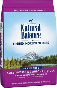 Natural Balance Limited Ingredient Diets Sweet Potato & Venison Formula Grain-Free Dry Dog Food