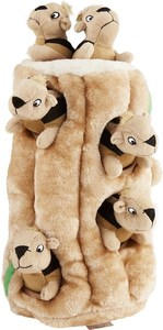 Outward Hound Hide A Squirrel Plush Toy