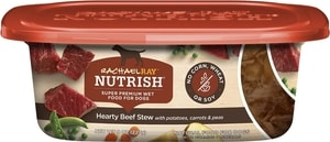 Rachael Ray Nutrish Natural Hearty Beef Stew Natural Grain-Free Wet Dog Food