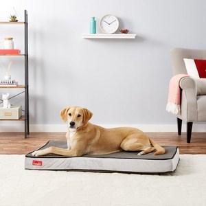 Brindle Plush Memory Foam Orthopedic Pet Bed