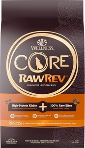 Wellness CORE RawRev Gain-Free Original Recipe with Freeze-Dried Turkey Dry Dog Food