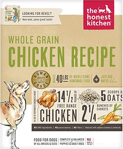 The Honest Kitchen Whole Grain Chicken Recipe